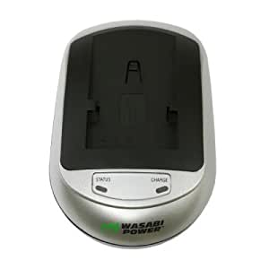 Sanyo Xacti VPC-CA8, Xacti VPC-CG6, Xacti VPC-CG65, and Xacti VPC-E6 EX Battery Charger (100-240V) with Car Adapter - Wasabi Power®