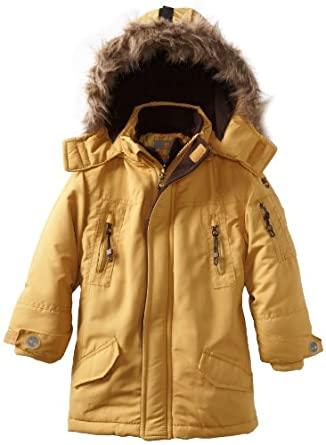 Timberland Little Boys' Snorkle Jacket, Gold, 4
