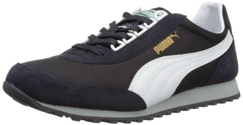 Puma Mens ZDC82 Team 353762 Low-Top 353762-05 Nine Iron/White 6.5 UK, 40 EU Extra Wide