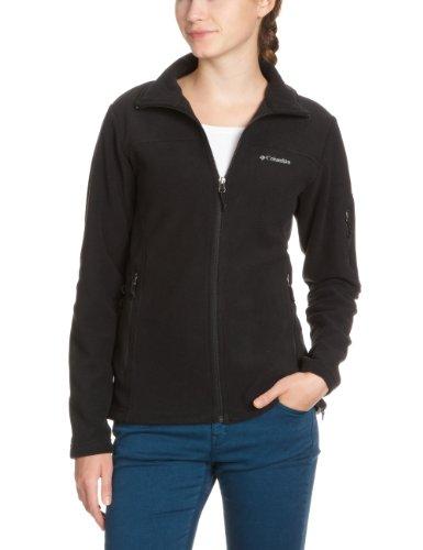 columbia-fast-trek-ii-jacket-damen-fleecejacke-black-m-el6081