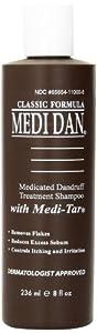 Clubman Medi Dan Classic Medicated Dandruff Treatment Shampoo, 8 Fluid Ounce