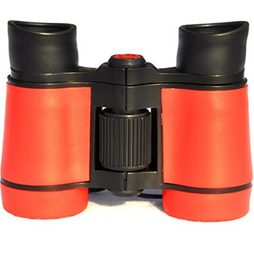Binocular Telescope 8x40 Miniature Toy Telescope Suit To Kids Red