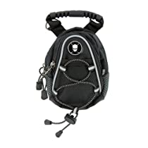 CMC Golf Skull with Crossed Clubs Mini Day Pack, Black