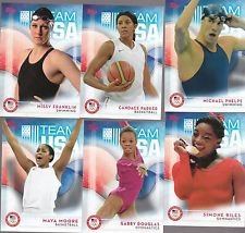 2016-Topps-USA-Olympic-Paralympic-Team-Hopefuls-Complete-Mint-74-Card-Set-Hand-Collated-Set-Loaded-with-Our-Top-Athletes-Including-Missy-Franklin-Michael-Phelps-Ryan-Lochte-Gabby-Douglas-Abby-Wambach-