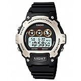 Casio Illuminator Sports Digital Chrono Watch W214H-1AV【並行輸入】