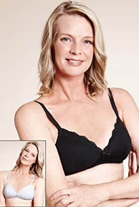 2 Pack - Per Una Post Surgery Modal Blend Lace Padded Bra