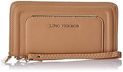 Lino Perros Womens Wallet(Beige)