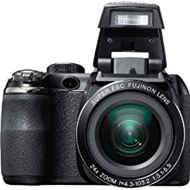 Fujifilm FinePix S4200 Digital Camera (Black)