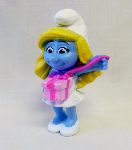 McDonalds 2013 Smurfs Smurfette's Birthday Figure #13 by The Smurfs - 1