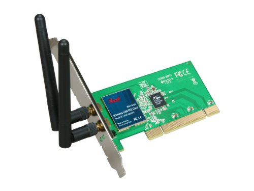 Rosewill Rnx-N250Pc Ieee 802.11B/G, Ieee 802.11N Draft Pci Draft N 2T2R Wireless Adapter Up To 300Mbps Wireless Data Rates Wpa/Wpa2; Wpa-Psk/Wpa2-Psk; 64/128 Bit Wep; Tkip/Aes