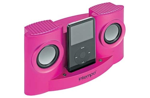 Intempo iDS-01PR2 - Pink Docking Station For iPod And Other MP3 Players
