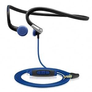 Sennheiser PMX 685i Sports In-Ear-Sportkopfhörer mit Nackenbügel - Apple iOS, blau/schwarz