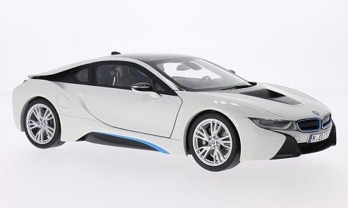 BMW i8, white/black, Model Car, Ready-made, I-Paragon 1:18 (Bmw Models compare prices)