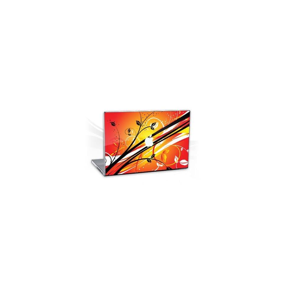 Design Skins for Apple MacBook Pro 15,4   Sunset Flowers Notebook Laptop Vinyl Sticker