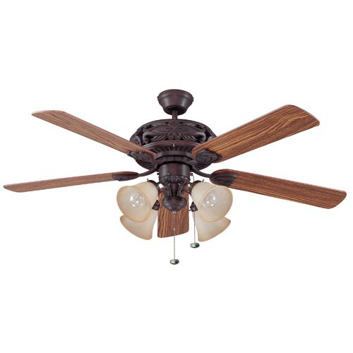 Ellington E-GD52ABZ5C Grandeur 52 in. Indoor Ceiling Fan - Aged Bronze