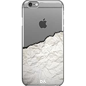 DailyObjects Crumbled Paper Transparent Clear Case For iPhone 6 Plus