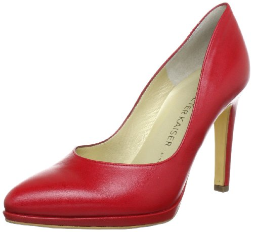 Peter Kaiser HERDI Plateau Women's Red Rot (ROT CHEVRO 107) Size: 39.5