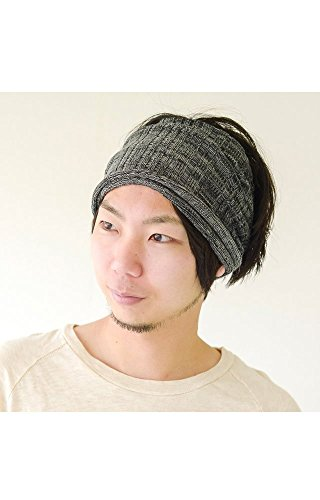 Casualbox mens headband Neck Warmer Japanese Hair Accessory Sports Mix Black