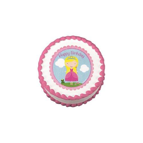 Lucks Edible Image, Birthday Princess - 1