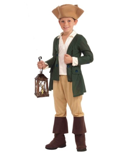 Paul Revere Costume, Child Large
