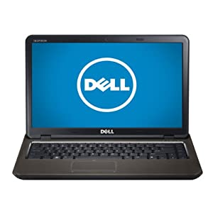 "Dell Inspiron 14"" Laptop (2.5 GHz Intel Core i5 2450M Processor, 6 GB RAM, 500 GB Hard Drive, Windows 7 Home Premium 64-bit) Espresso Black"