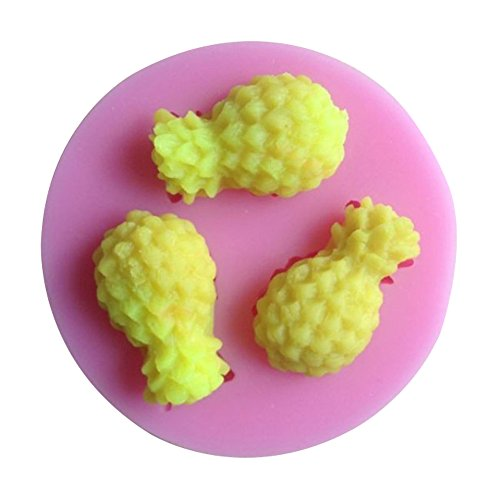 Karen Baking ananas Forme 3D de gâteau de silicone moules à gâteaux Fondant Décoration
