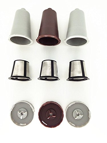 3 x Replacement Part for KEURIG My K-Cup Reusable Coffee Filter FULL 3 SET (Keurig Parts For B60 compare prices)
