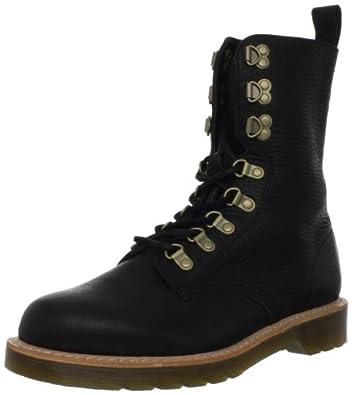 Dr. Martens Men's Wallis Boot,Black Berkshire,10 UK/11 M US