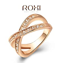 buy Big Moments Trade Selling Jewelry Authentic Austria Crystal Diamond Gold Ring Size-9