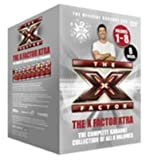 X FACTOR KARAOKE DVD BOX SET ALL 8 VOLUMES