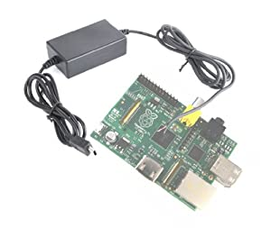 Hardwire Micro USB In Car Power Supply Lead For Raspberry Pi, By DURAGADGET