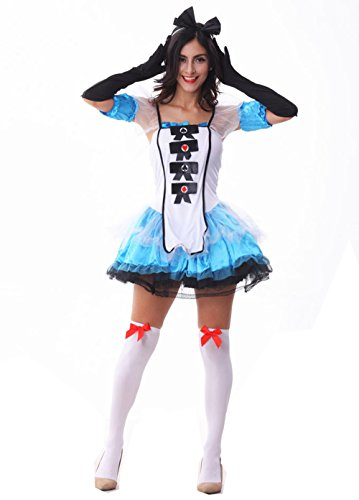 Fashion Queen Women's Halloween Alice Costume