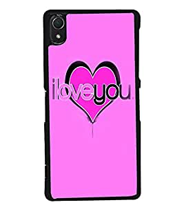 PRINTVISA Quotes Love Case Cover for Sony Xperia Z2::Sony Xperia Z2 L50W D6502 D6503