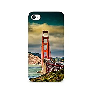 TAZindia Designer Printed Hard Back Case Mobile Cover For Apple iPhone 4 4s