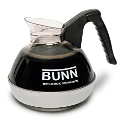 Bunn 6100 12-Cup Easy Pour Replacement Decanter, Black by Bunn