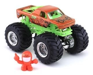 Hot Wheels Monster Jam Off-Road Series #18 RAP ATTACK, Includes Monster Jam Figure