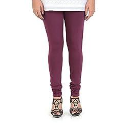 Vami Cotton Churidar Leggings in Rose Bud Color _VM1001(58)
