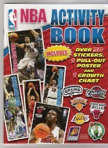 NBA Activity Book With Over 50 Stickers, Pull-Out Poster & Growth Chart - 1