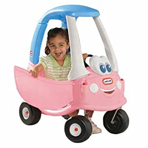 Precious little tikes cozy coupe 30th anniversary pink edition cleva edition 3dalarmd bundle - Little tikes cozy coupe pink ...