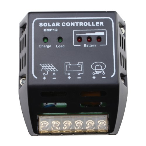 AGPtek® LED Solar Panel Charge Power Controller