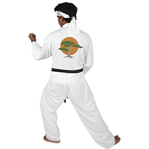 Adult Karate Kid Movie Costume (Size: Large 42-46)