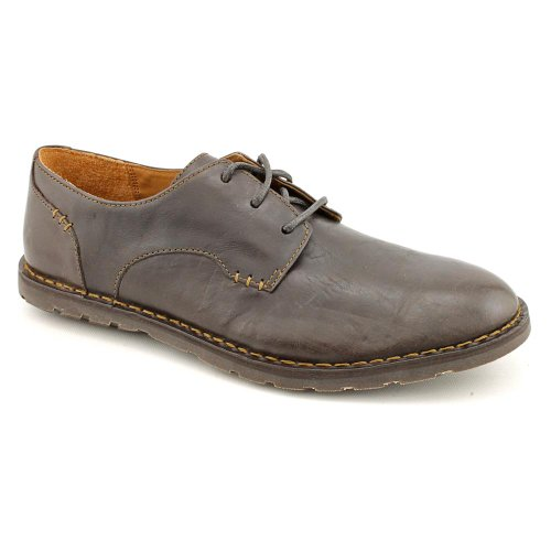 Born Crown Callahan Mens Size 11 dark Brown Leather Oxfords Shoes