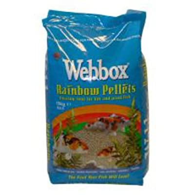 Webbox Fish Food Floating Pellets Koi & Pond Fish 10kg