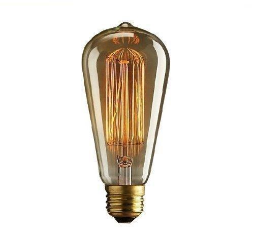 CMYK 40w Vintage lampadina - con gabbia filamento (vecchio Edison) Vite E27 - Lampadine a ...