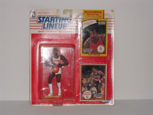 Clyde Drexler 1990 Starting Lineup Action Figure