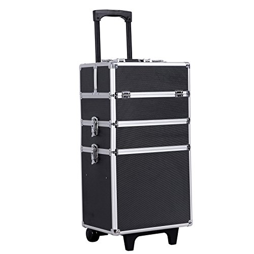 Songmics-Malette-Maquillage-trolley-4-in-1-Aluminium-bote--maquillage-Beauty-Case-professionnel-Noir-JHZ01B