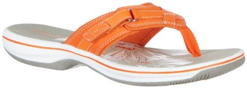 Womens Orange Sandals