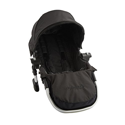 Baby-Jogger-City-Select-Second-Seat-Kit-with-Silver-Frame-Onyx
