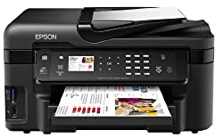 Epson WorkForce WF-3520DWF 4-in-1 Printer with Double-sided Printing