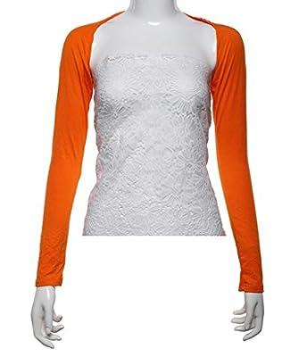 Seastar Women's Bolero Muslim Long Sleeve Shrug Crop Top